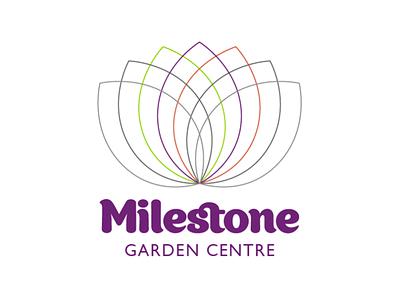 Milestone Rebrand logo design brand identity branding