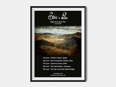 Storm the Palace Tour Poster live music tour poster poster design music poster print poster event storm the palace music