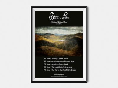 Storm the Palace Tour Poster