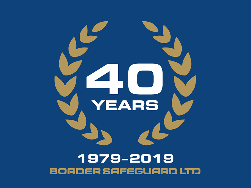 40th Anniversary Logo branding logotype typography logo anniversary