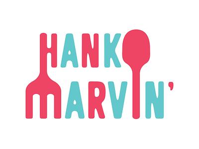 Hank Marvin' vector typogaphy logo design branding logo