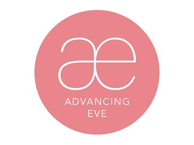 Advancing Eve Logo graphic design vector brand mark logo design branding design brand identity typography branding logo