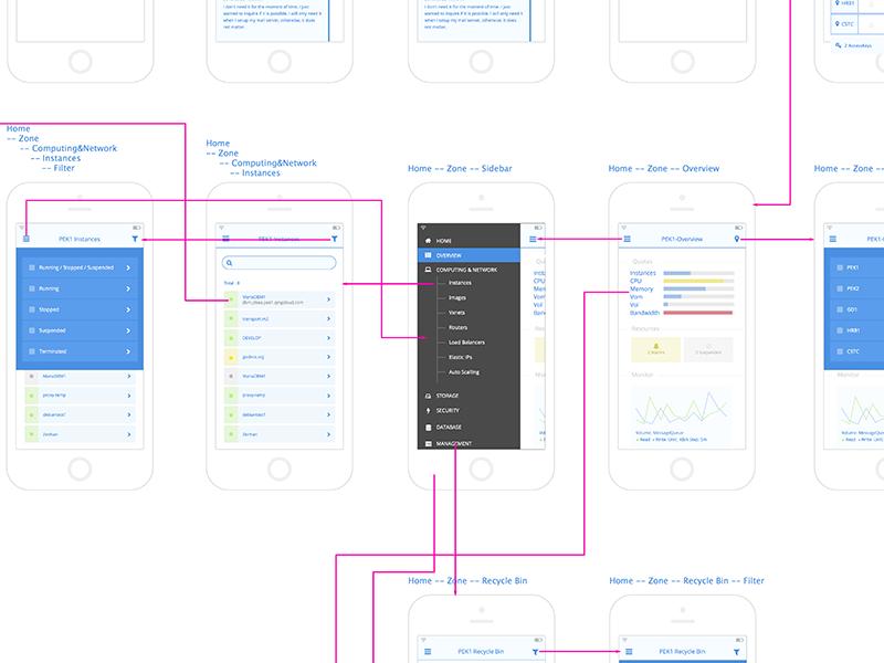 App wireframe 0.1