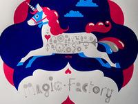 Magic Factory Screen Print
