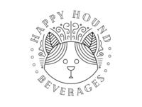 Beverages Logo - Happy Hound