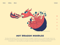 Hot Dragon Noodles