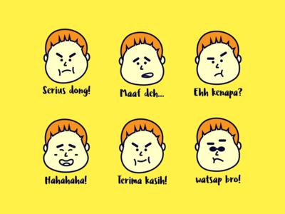 Fat Guy Emoji