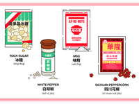 Chinese Dry Ingredients & Spices