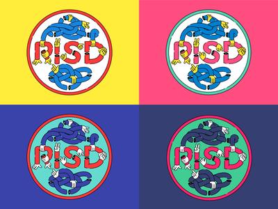 RISD Logo Handsy Riff