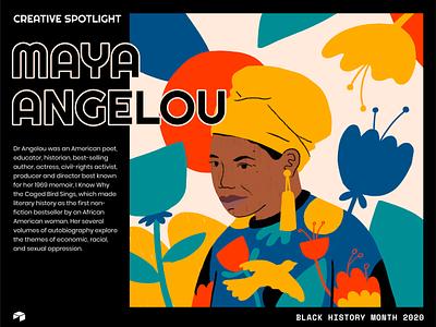 Black History Month 2020 illustration design commemoration bhm2020 bhm black history month