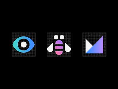 IBM App Icons Rebus ui icon grid rebus ibm app