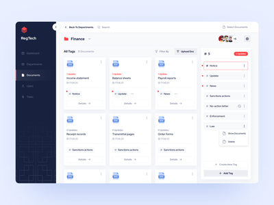 Regulatory Change Management Template dashboard template temple kit ui kit web web apps ui library ui design webdesign application figmadesign figma figma library design system dashboard ux ui dashboard ux dashboard ui dashboard app