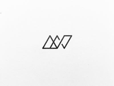 A minimalistic A & N monogram