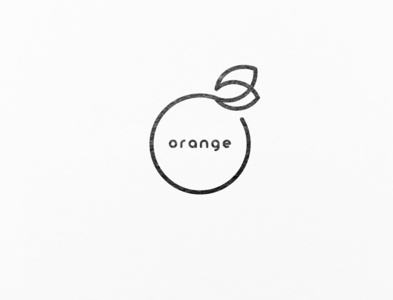 A juice shop's logo design
