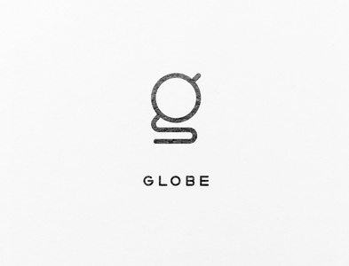 A combination of the letter 'g' and a globe.