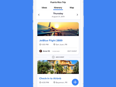iPhone X Travel App (Passion Project)
