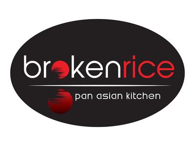Broken Rice logo design branding marketing illustrator logo logo design