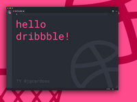 Hello Dribbble. Let's Job!
