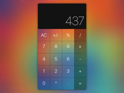 Daily UI #004 - Tie Dye Calculator
