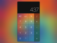 Daily UI #004 - Tie Dye Calculator