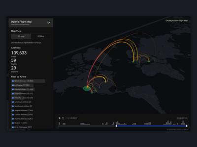 FlightMapper Map View