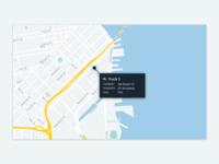 Fleet Management Dashboard Tooltip