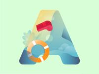 Lifeguard Concept Illustration