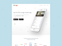 trivago Apps Landing Concept