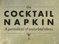the COCKTAIL NAPKIN Season 3