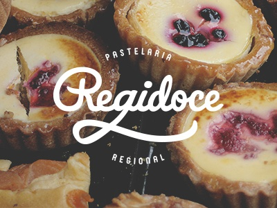Regidoce Logo branding logo identity logotype sweets pastry