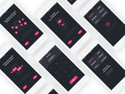 Pasmo App watch ios iphone watchos minimal clean application app prototype design ux ui