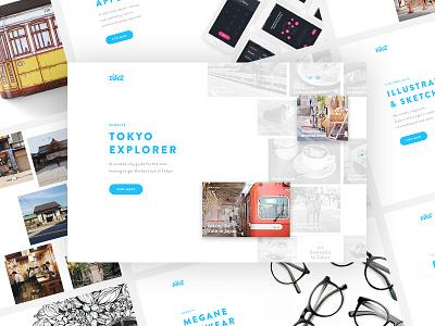 New Portfolio Website semplice japan minimal clean web ux ui design website portfolio