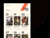 Events Guide - Desktop