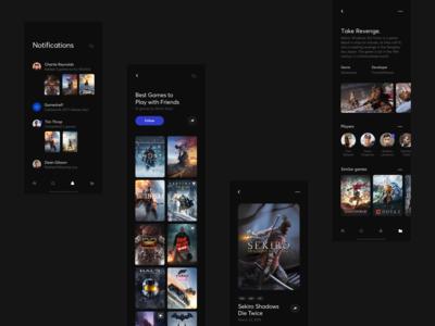 Gameshelf App - Concepts