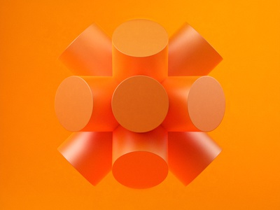 GeometricStudy No 10 cinema 4d illustration 3d design