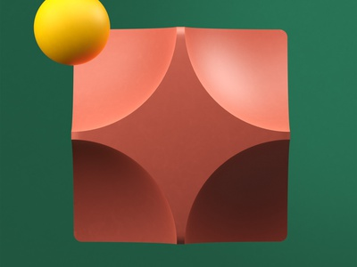 GeometricStudy No 12 illustration cinema 4d 3d design