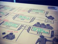 Pen storyboarding