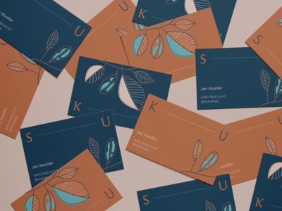 SUKU Coffee Business Cards