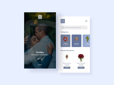 Mobile Ecommerce Funeral Flowers