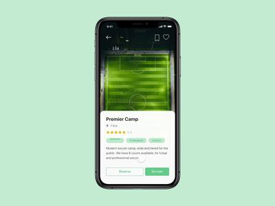 Soccer App Interaction
