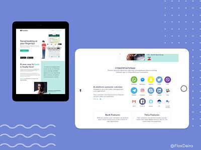 Responsive website design tablet design responsive website design fintech