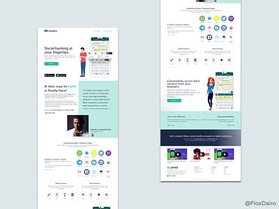 Responsive website design home page design responsive website design fintech