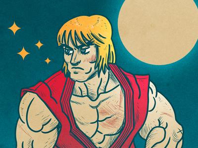 Ken Masters /// Street Fighter II