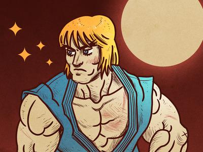 Ken Masters /// Street Fighter II - Alternate Costume