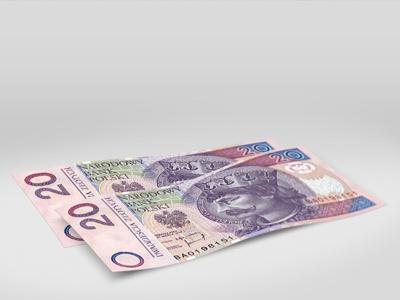 Zloty money polish dollar bills currency zloty cash photoshop