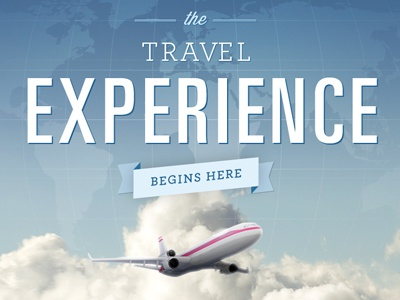 The Travel Experience travel experience plan clouds site blue vacation sky