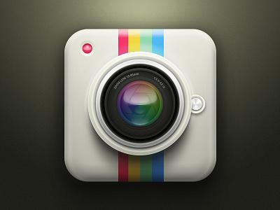 Camera Icon camera instagram icon ios iphone ipad lens