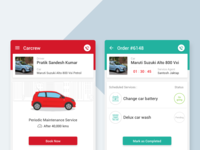 Designing the UX of Carcrew's mobile apps