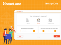 The UX Design Process for Homelane's Requirement Gathering Flow