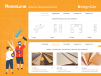 The UX Design Process for Homelane's Interior Requirements